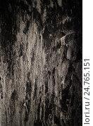 Купить «Фрагмент обгоревшей закопченной стены», фото № 24765151, снято 20 декабря 2016 г. (c) Евгения Литовченко / Фотобанк Лори