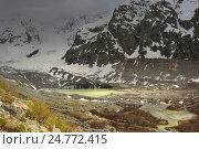Купить «Озеро на Кавказе», фото № 24772415, снято 1 июня 2016 г. (c) александр жарников / Фотобанк Лори