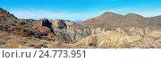 Панорама пустыни Табернас в Испании (2016 год). Стоковое фото, фотограф Alexander Tihonovs / Фотобанк Лори