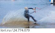 Вейкборд wakeboard. Стоковое фото, фотограф Рамиль Бакиров / Фотобанк Лори