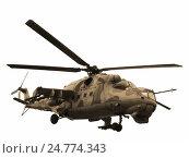 Купить «Вертолет Ми-24В Ми-35», фото № 24774343, снято 21 апреля 2012 г. (c) Владислав Чеканин / Фотобанк Лори