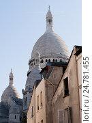 Купить «Базилика Святого сердца, Париж, Франция», фото № 24781455, снято 23 октября 2011 г. (c) Виталий Батанов / Фотобанк Лори
