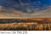 Осенний сельский пейзаж, Молдова. Стоковое фото, фотограф Igor Sirbu / Фотобанк Лори