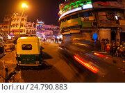 Купить «Пахарганж, Дели, Индия», фото № 24790883, снято 17 апреля 2019 г. (c) OSHI / Фотобанк Лори