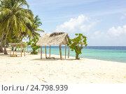 The Beach in Maldives. Стоковое фото, фотограф Александр Бекишев / Фотобанк Лори