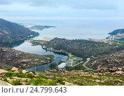 Купить «Mouth of Xallas river (Ezaro, Galicia, Spain).», фото № 24799643, снято 14 мая 2016 г. (c) Юрий Брыкайло / Фотобанк Лори
