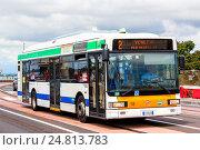 Купить «Irisbus CityClass», фото № 24813783, снято 30 июля 2014 г. (c) Art Konovalov / Фотобанк Лори