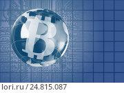 Купить «The concept of e-commerce growth rate. Cryptocurrency Bitcoin.», фото № 24815087, снято 5 января 2017 г. (c) Александр Якимов / Фотобанк Лори