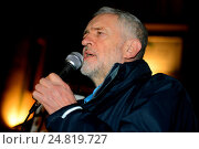 Купить «Labour leader Jeremy Corbyn joins a multi faith peace vigil at Finsbury Park Mosque after an attempted petrol bombing of the Mosque Featuring: Jeremy Corbyn...», фото № 24819727, снято 4 декабря 2015 г. (c) age Fotostock / Фотобанк Лори