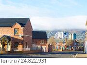 Купить «Жилой район в южной части Белфаста», фото № 24822931, снято 2 января 2017 г. (c) Ольга Марк / Фотобанк Лори