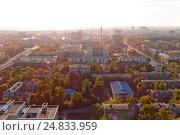 Аэросъемка Екатеринбурга (2015 год). Стоковое фото, фотограф Антон Федорченко / Фотобанк Лори
