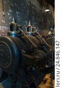 Старые механизмы. Стоковое фото, фотограф Игорь Горелик / Фотобанк Лори