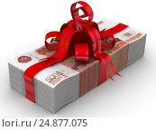 Купить «Деньги в подарок», иллюстрация № 24877075 (c) WalDeMarus / Фотобанк Лори