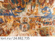 Ярославль, Храм Ильи Пророка, фрески, фото № 24882735, снято 27 мая 2011 г. (c) Наталья Волкова / Фотобанк Лори