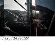 Купить «After the closure of borders by Hungary and Croatia, Serbia was crowded with hundreds refugees stuck in Belgrade. The refugees live in inhuman conditions...», фото № 24886551, снято 16 января 2017 г. (c) age Fotostock / Фотобанк Лори
