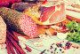 Variety of meats on table, фото № 24909603, снято 21 января 2017 г. (c) Яков Филимонов / Фотобанк Лори