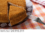 Купить «Still life of pastry and tableware utensils», фото № 24910311, снято 19 января 2017 г. (c) Александр Калугин / Фотобанк Лори