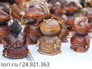Пеликены - талисманы малых народностей  коряков и эскимосов. Стоковое фото, фотограф Мила Демидова / Фотобанк Лори