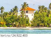 The Hotel on Small Island. Стоковое фото, фотограф Александр Бекишев / Фотобанк Лори