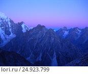 Купить «Закат в горах», фото № 24923799, снято 24 августа 2005 г. (c) Лия Покровская / Фотобанк Лори