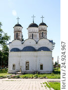 The Cathedral of the Deposition of the Robe, Russia, Suzdal (2014 год). Стоковое фото, фотограф Денис Фоломеев / Фотобанк Лори