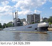 Купить «Подводная лодка Б-413 стоит у причала Музея Мирового океана. Калининград», фото № 24926399, снято 24 июля 2011 г. (c) Ирина Борсученко / Фотобанк Лори