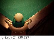 Ball for russian billiards. Стоковое фото, фотограф Юлия Младич / Фотобанк Лори