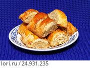 Купить «Печенье Гата. Армянская национальная кухня», фото № 24931235, снято 22 января 2017 г. (c) Наталья Осипова / Фотобанк Лори