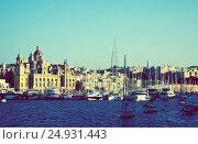 Купить «View of Senglea. Malta», фото № 24931443, снято 20 декабря 2010 г. (c) Яков Филимонов / Фотобанк Лори