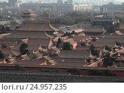 Запретный город Гугун в Пекине, Китай (2016 год). Стоковое фото, фотограф Vladislav Osipov / Фотобанк Лори