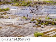 Купить «Коелгинский мраморный карьер», фото № 24958879, снято 23 августа 2015 г. (c) Хайрятдинов Ринат / Фотобанк Лори