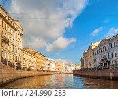 Набережная реки Мойки, Санкт-Петербург, Россия, фото № 24990283, снято 3 октября 2016 г. (c) Зезелина Марина / Фотобанк Лори