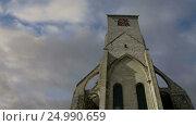 Basilica of Saint-Martin, Tours, France (2017 год). Стоковое видео, видеограф Владимир Журавлев / Фотобанк Лори