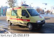 Купить «Скорая медицинская помощь», фото № 25050819, снято 4 ноября 2014 г. (c) Сергей Юрьев / Фотобанк Лори