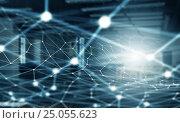 Купить «Social Networks and interaction concept . Mixed media», иллюстрация № 25055623 (c) Sergey Nivens / Фотобанк Лори