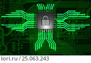 The concept of electronic security. Data encryption., фото № 25063243, снято 26 февраля 2017 г. (c) Александр Якимов / Фотобанк Лори