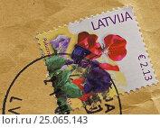 Почтовое отправление из Латвии. Стоковое фото, фотограф Александр Игнатов / Фотобанк Лори