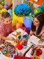 Children painting and drawing. Art lesson in primary school., фото № 25067679, снято 4 октября 2015 г. (c) Gennadiy Poznyakov / Фотобанк Лори