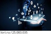 New media technologies for business . Mixed media. Стоковое фото, фотограф Sergey Nivens / Фотобанк Лори