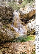 Купить «Родниковский водопад на реке Боса», фото № 25084563, снято 29 марта 2014 г. (c) Выскуб Анна / Фотобанк Лори