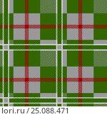 Купить «Seamless tartan pattern», иллюстрация № 25088471 (c) Silanti / Фотобанк Лори