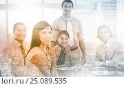 Купить «International business associates in a meeting», фото № 25089535, снято 2 июня 2020 г. (c) Wavebreak Media / Фотобанк Лори