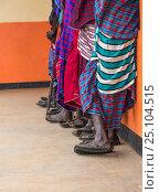 Племя в Африке. Стоковое фото, фотограф Игорь Горелик / Фотобанк Лори
