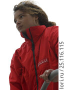 "Купить «Marie Tabarly, daughter of French sailing legend Eric Tabarly, sailing ""Pen Duick VI"" to Plymouth to watch the start of the Transat 2004, celebrating 40...», фото № 25116115, снято 17 августа 2018 г. (c) Nature Picture Library / Фотобанк Лори"
