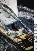 "Купить «123ft sloop superyacht ""Helios"" racing in Antigua, Caribbean.», фото № 25119983, снято 18 августа 2018 г. (c) Nature Picture Library / Фотобанк Лори"