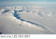 Купить «Aerial photo of Spitsbergen, Svalbard, Norway, July 2012.», фото № 25161051, снято 19 июля 2018 г. (c) Nature Picture Library / Фотобанк Лори