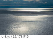Купить «Calm waters off Olkhon island, Lake Baikal, Siberia, Russia, September 2013.», фото № 25179915, снято 20 января 2018 г. (c) Nature Picture Library / Фотобанк Лори