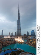 Купить «The Burj Khalifa, completed in 2010, the tallest man made structure in the world, Dubai, United Arab Emirates 2011», фото № 25236627, снято 22 января 2018 г. (c) Nature Picture Library / Фотобанк Лори