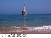 Rattray Head lighthouse, Northeast Scotland, Europe, May 2012. Стоковое фото, фотограф Philip Stephen / Nature Picture Library / Фотобанк Лори