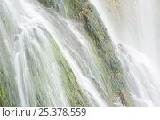Купить «Veliki Prstavci waterfalls, Upper lakes, Plitvice Lakes NP, Croatia, October 2008», фото № 25378559, снято 15 июля 2018 г. (c) Nature Picture Library / Фотобанк Лори